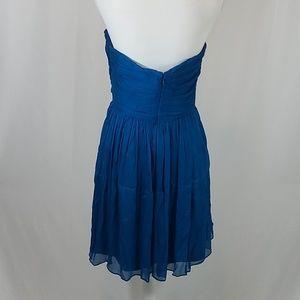 J. Crew Dresses - J Crew Teal Blue Strapless Dress 10